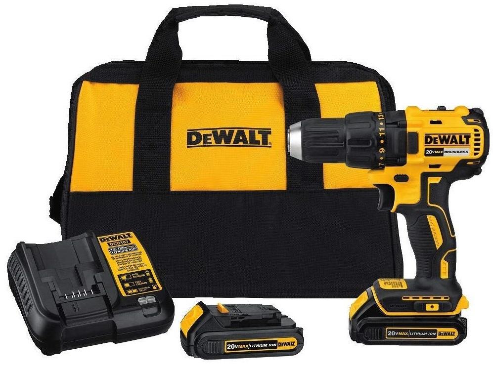 Dewalt DCD777C2 Brushless Compact Drill Driver