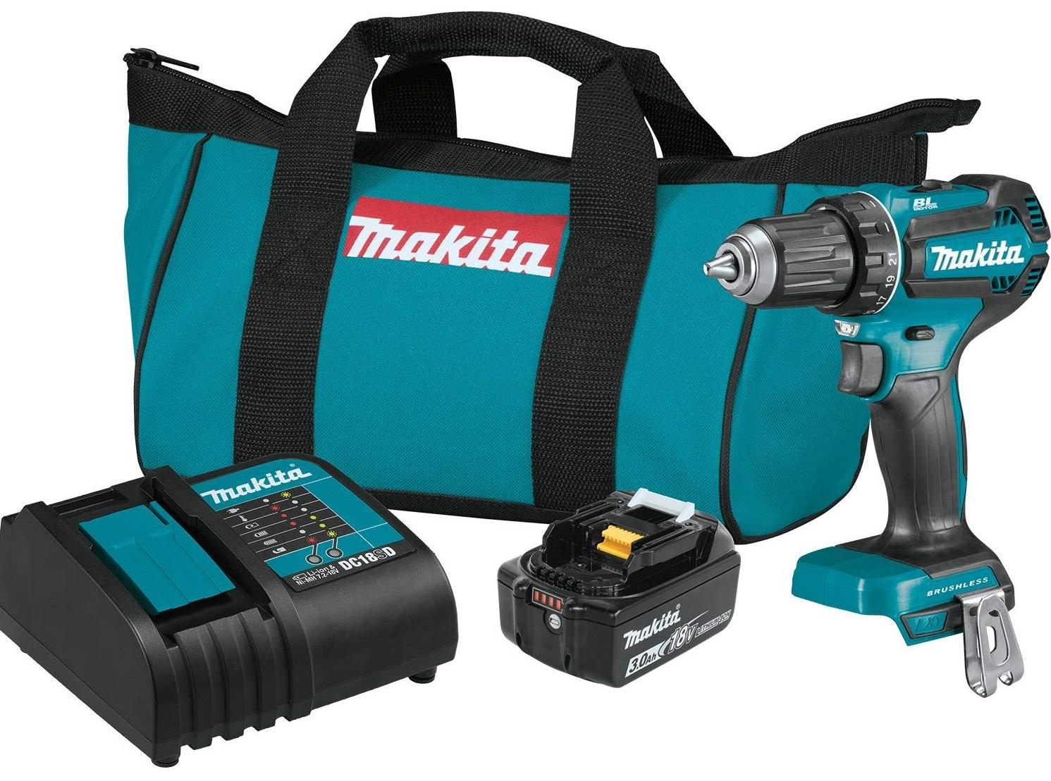 Makita XFD131 Brushless Cordless Drill Kit