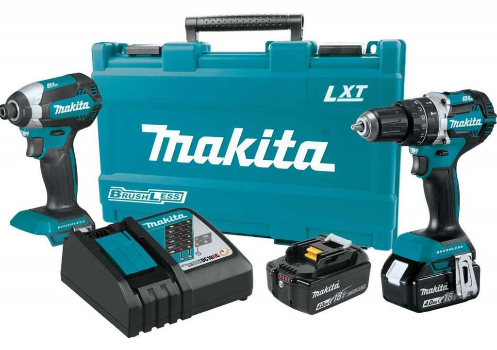 Makita XT269M Brushless Cordless Combo Kit