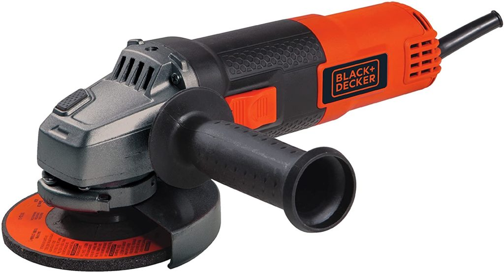 BLACK+DECKER Corded Angle Grinder