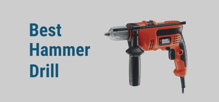 Top 7 Best Hammer Drills in 2020 | Reviews (Cordless + Corded)